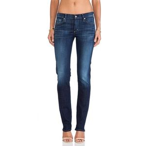 Citizens of Humanity Blue Jeans Straight Leg